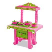 Cozinha Fogãozinho da Moranguinho Mimo Toys R4070 -