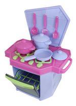 Cozinha Infantil Big Fogão Com Panelas Brinquedos Com Forno - Katitus