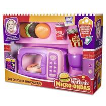 Cozinha Infantil Brinquedo Meu Lanchinho Microondas com Acessórios - Zuca Toys -