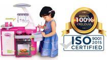 Cozinha Infantil Classic Kit C/ Fogão Pia Geladeira Cotiplás - Cotiplas