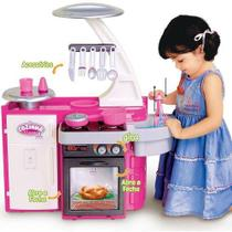 Cozinha Infantil Classic Pia Fogão e Geladeira - Cotiplás 1601 -