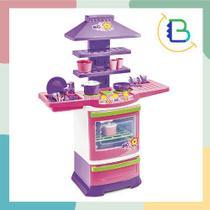 Cozinha Infantil com Acessórios Fogão Master Big Chef - Poliplac