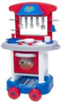 Cozinha Infantil  Com Forninho E Acessórios 71cm Play Time 2421 - Cotiplás -