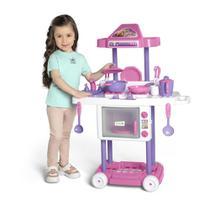 Cozinha Infantil Com Rodas Calesita Tateti Riva Chef 3+ -