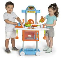 Cozinha Infantil Com Rodas Calesita Tateti Riva Mr. Chef 3+ -