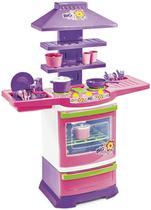 Cozinha Infantil Completa Fogão Infantil Menina Poliplac -