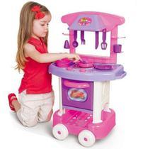 Cozinha Infantil Completa Fogão Pia Play Time Da Cotiplas -