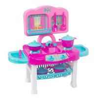 Cozinha Infantil Completa Fogãozinho Panelinha Mielle - Mielle Brinquedos -