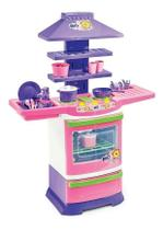 Cozinha Infantil Completa Menina Poliplac Big Chef -