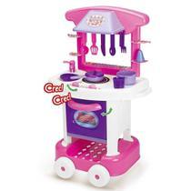 Cozinha  Infantil Cotiplás Play time Com Acessórios - Cotiplas