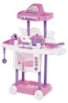 Cozinha Infantil Criança Completa Pia + Fogãozinho + Forno Riva Chef - Calesita -
