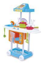Cozinha Infantil Criança Completa Pia + Fogãozinho + Forno Riva Mr Chef - Calesita -