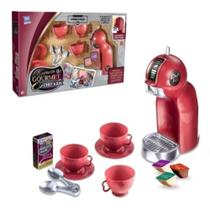 Cozinha Infantil de Brinquedo Expresso Gourmet Cafeteira Chef Kids - Zuca Toys