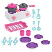 Cozinha Infantil fogão C/ Panelinhas Master   Melhor Preço!! - Monte Libano