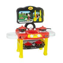 Cozinha Infantil Fogãozinho Completo Disney Mickey Mielle - Mielle Brinquedos