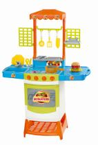 Cozinha Infantil Fogãozinho Panelinha Master Burguers Magic - Magic Toys