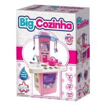 Cozinha Infantil Grande Com Acessórios - Sai Água De Verdade - 16 peças - Bigstar