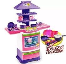 Cozinha infantil master fogao bigchef poliplac -
