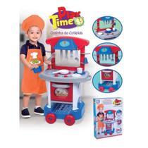Cozinha Infantil Menino Play Time com Acessórios Cotiplás -