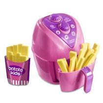 Cozinha infantil Mini Air Fryer kids c/ batatinha fritadeira de brinquedo -
