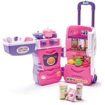 Cozinha Infantil Mobility Chef Maleta C/ Rodas Calesita 304 -