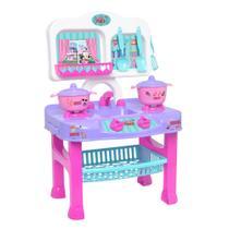 Cozinha Infantil Panelinhas Fogãozinho Disney Minnie Menina - Mielle Brinquedos