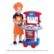 Cozinha infantil play time colorida menino - Cotiplas