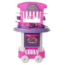 Cozinha Infantil Play Time Com Acessórios - 2008 Cotiplás - Cotiplas