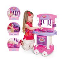 Cozinha Infantil Play Time com Acessórios Cotiplás - Cotiplas