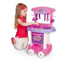 Cozinha Infantil Play Time Com Pia Fogão e Forno - Cotiplás -