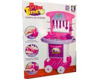 Cozinha Infantil Play Time Cotiplás - Rosa -