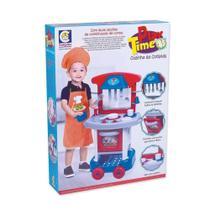 Cozinha Infantil Play Time Menino - Cotiplás - Cotiplas -