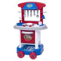 Cozinha Infantil Play Time Menino - Cotiplás - Cotiplas