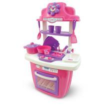 Cozinha Infantil Portátil Rosa - Maral -