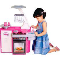 Cozinha Infantil Rosa Forno Panela Classic - 1601 Cotiplás -
