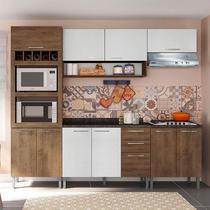 Cozinha Isadora 0424T 9 Portas C/ Tampo  GenialFlex -