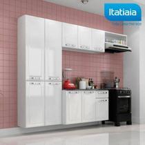 Cozinha Itatiaia Amanda Compacta 4 Pecas Branco Nevadas -