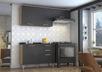 Cozinha Itatiaia Clean - 3 Peças - Grafite -