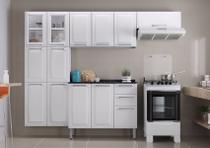 Cozinha Itatiaia Luce - 4 Peças 2 Vidros  Branca -