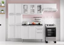 Cozinha Itatiaia Luce - 4 Peças 3 Vidros - Branca -