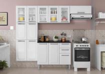 Cozinha Itatiaia Luce - 4 Peças 5 Vidros  Branca -