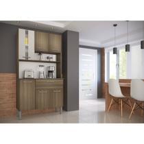 Cozinha Kit 1860 6 Portas 1 Gaveta Genialflex -