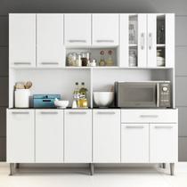 Cozinha Kit Clara 12 Portas 1 Gaveta Poliman -