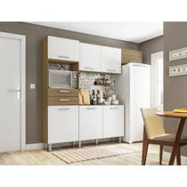 Cozinha Kit Lia 7 Portas 2 Gavetas Poliman -