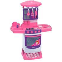 Cozinha Mágica Pia com Escorredor Forno Magic Toys MAT-8000L -