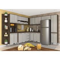 Cozinha Modulada 10 Peças Hilary Terraro/ Naturaly - Moveis arapongas