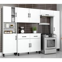 Cozinha Modulada 5 Peças Melinda Branco - Movemax
