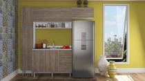 Cozinha Modulada Completa 5 peças Modelo 16 Várias Cores Mia Coccina -