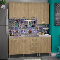 Cozinha Modulada Genova - Completa -