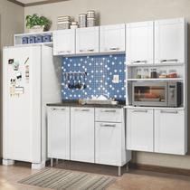 Cozinha Modulada Múltipla Aço 4 Módulos Composição 1 Branco - Bertolini -